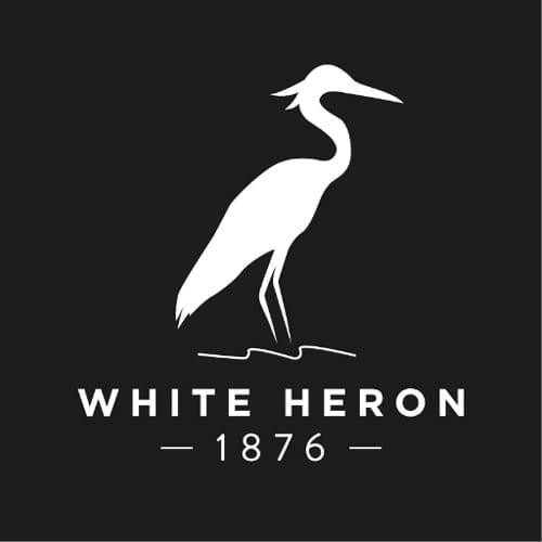 White Heron Drinks Logo