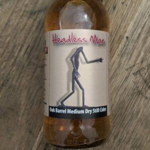 Headless Man Medium Dry Still Cider