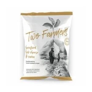Two Farmers Hereford Hop Cheese & Onion Potato Crisps