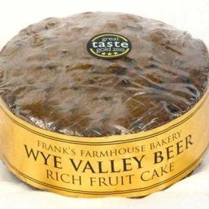 Franks Farmhouse Bakery Wye Valley Beer Cake