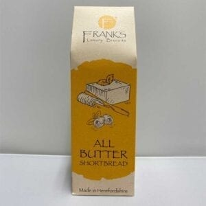 Franks Luxury Biscuits Boxed All Butter Shortbread