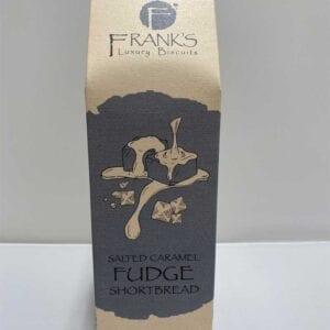 Franks Luxury Biscuits Boxed Caramel Sea Salt Shortbread