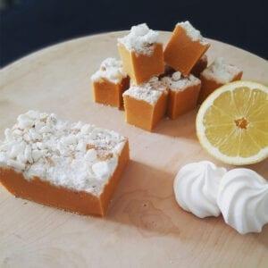 Mamas Fudge Lemon Meringue Fudge Eco Pot