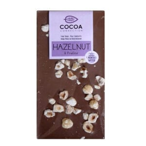 Milk Chocolate Crushed Hazelnut Praline 100g