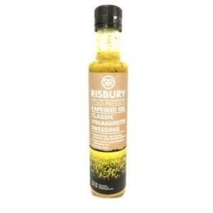 Risbury Classic Vinaigrette Cold Pressed Natural Rape Seed Oil 250ml