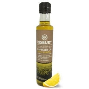 Risbury Cold Pressed Natural Rape Seed Oil With Lemon 250ml