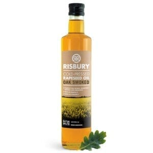 Risbury Cold Pressed Oak Smoked Natural Rape Seed Oil 250ml