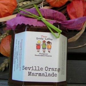 Three Fruity Ladies Saville Orange Marmalade 300g