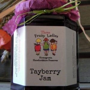 Three Fruity Ladies Tayberry Jam 300g