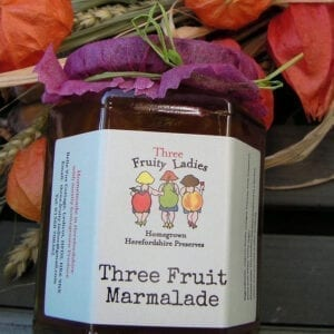 Three Fruity Ladies Three Fruit Marmalade 300g
