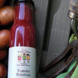 Three Fruity Ladies Tomato Ketchup 240ml