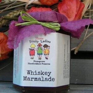 Three Fruity Ladies Whiskey Marmalade 200g