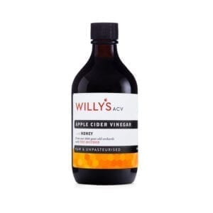 Willys Apple Cider Vinegar With Honey With Mother 500ml