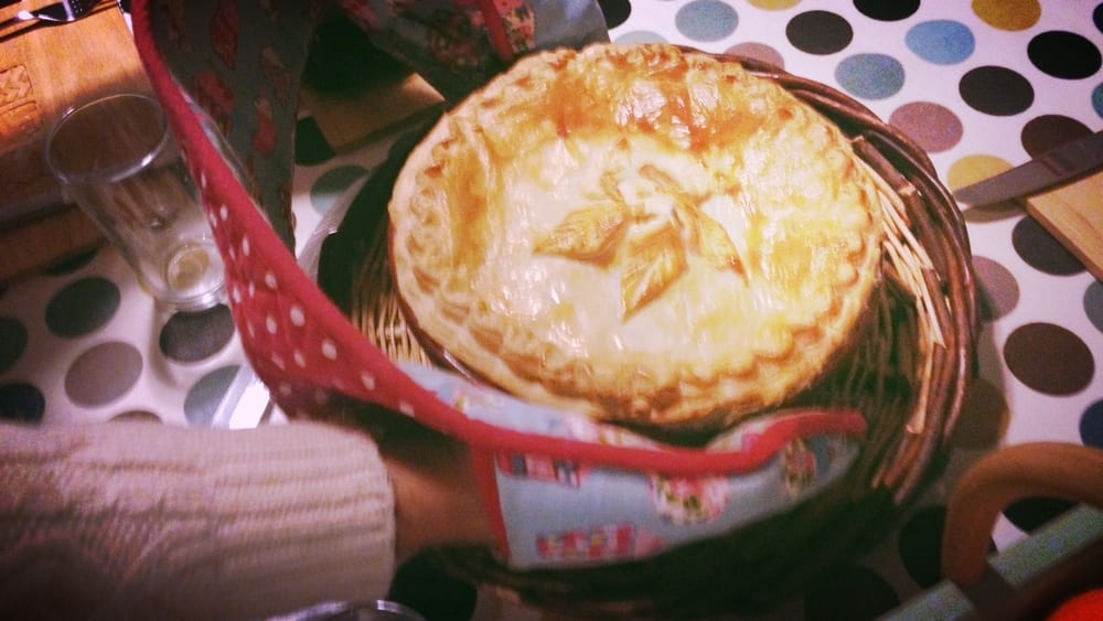 Tipsy Chicken Pie