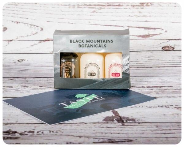 Black Mountain Miniature Gin Gift Set