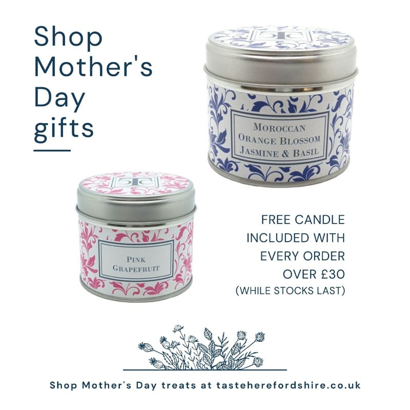 Mothers Day Gifts Herefordshire